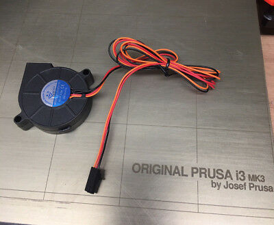 50x50x15 Prusa MK3 Fan Part Cooling Blower Replacement 5v 3 pin Ball Bearing Fan