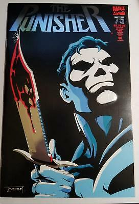 The Punisher #75 **OBO ON** (1993)  Embossed Foil Cover!