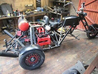Trike. 1700 injection. Alfa 33 boxer engine. Project, with full correct v5
