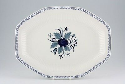 Pottery, Porcelain & Glass Pottery Loyal Adams Baltic 34 Cm Platter