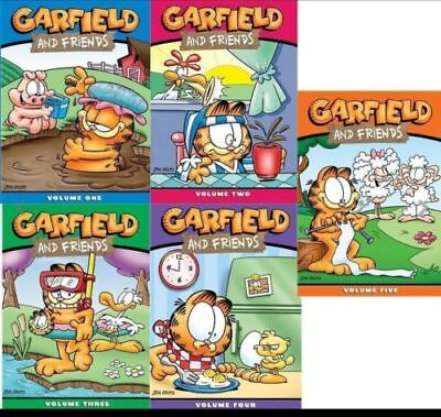 Garfield and Friends: Complete Series Season Vol.1.2.3.4.5 (DVD,15-Disc Box Set