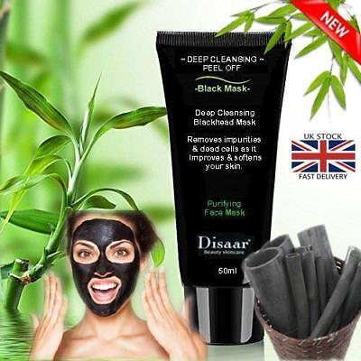 Black Face Mask Charcoal Activated Blackhead Remover Peel Off Facial Black Mask