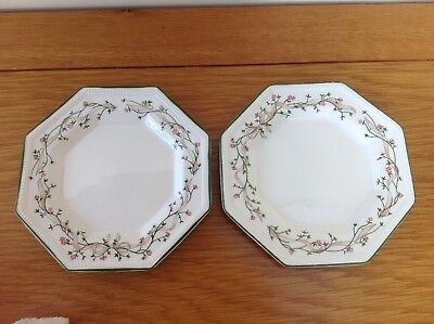 Eternal Beau set of two small side plates.size15cms