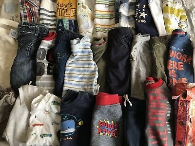 Huge Baby Boys Clothes Bundle  0-3 Months - Over 100 Items !!!