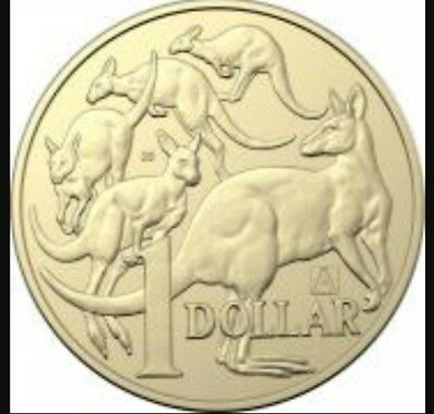 2019 Australian $1 One Dollar Coin - A / U / S Privy Mark - Set of 3 Coins UNC