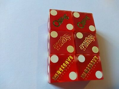3 Pair Vtg. Casino Dice From *** Las Vegas,nv***       ***matched Numbers***