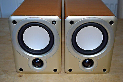 Denon SC M53 Hi Fi Stereo Bookshelf Speakers