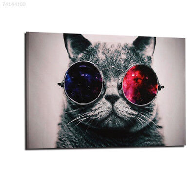 117C Cat Print Oil Painting Home Wall Picture Living Room Decor Mural 40x60CM