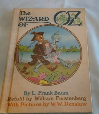 The Wizard of Oz, by L. Frank Baum, Hardcover, 1984 vintage weekly reader book
