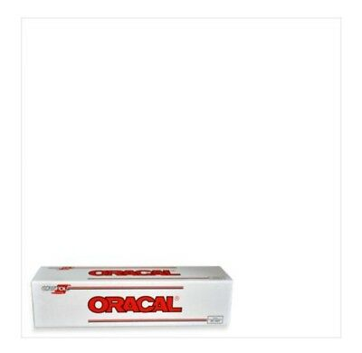 "Oracal 651 vinyl 1 Roll 24""x50yd (150ft) White Gloss Sign Vinyl multi surface"