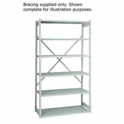 Bisley Shelving Bracing Kit W1000mm Grey 10ESEBK-AT4 [BY14383 ]