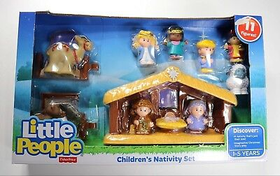 Fisher Price Little People Childrens Nativity Set New In Box