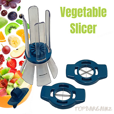 Vegetable Fruit Slicer Food Kitchen Tool Stainless Cutter Chopper Potato Peeler