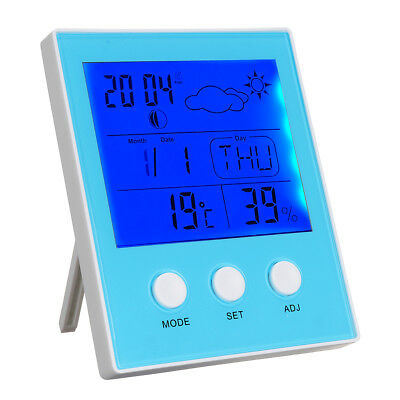 CH-904 Digital Thermometer Hygrometer Temperature Humidity Tester LED Backlight