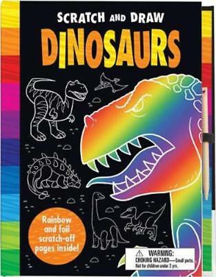 Scratch and Draw: Dinosaurs