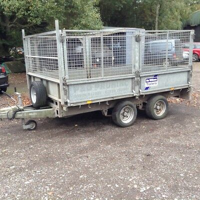 Ifor Williams 10 x 6 caged trailer LM106 G
