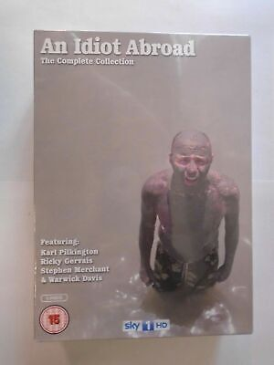 An Idiot Abroad - The Collection: Season Series 1-3 (DVD), NEW & unsealed, WG1