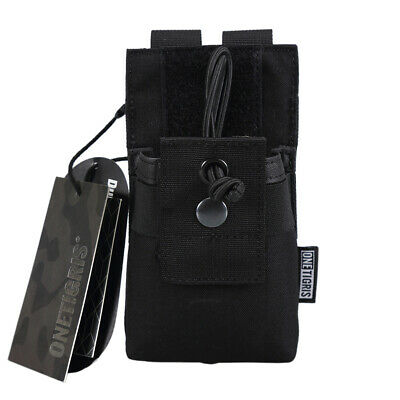 OneTigris 1000D Nylon Tactical Molle Radio Pouch Walkie Talkie Holster Open Top