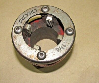 "Ridgid 1-1/4"" Die Head to fit Pipe Threader threading machine hand stock"
