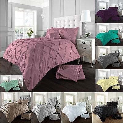 Luxurious & Modern ALFORD Design Duvet / Quilt Cover Set With Pillowcases