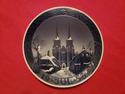 1936 Royal Copenhagen Christmas Plate