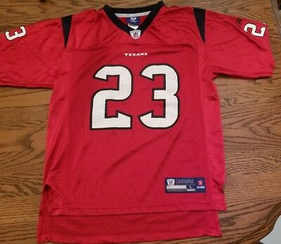 ARIAN FOSTER #23 (Sewn On) Houston Texans NIKE NFL Players Jersey  for sale