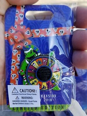 Disney Parks Haunted Mansion Holiday Oogie Boogie 2018 Pin