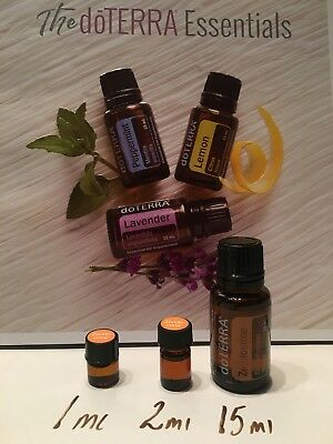 doTERRA Essential Oil Samples -1mL & 2mL