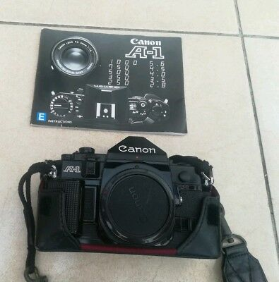 Canon A-1 A1 35mm SLR Film Camera Body ONLY