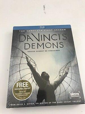 DaVinci's Demons The Complete First Season One 3 Blu-ray Disc set 2013 NEW