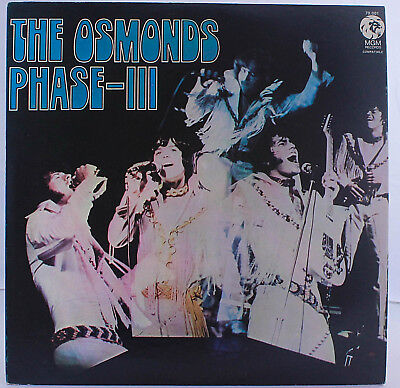 The Osmonds ‎– Phase III LP Venezuelan Press MGM 1972