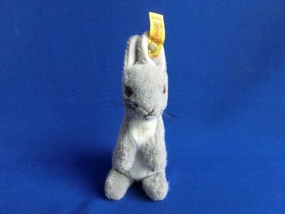 Alter Steiff Hase Made in Western Germany 1503/15, Pass Mass 73