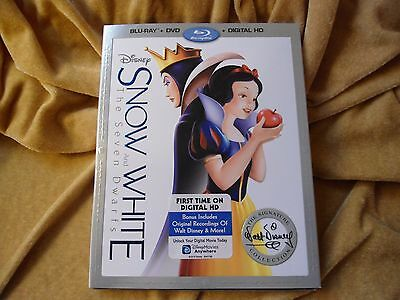 Snow White And The Seven Dwarfs (Blu-ray + DVD) (1937)