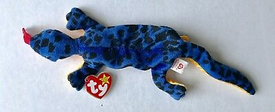 TY Beanie Babies Baby Lizzy the Lizard with tag