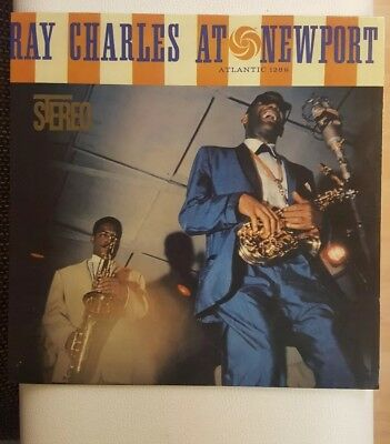***ray Charles At Newport***atlantic 1289 *re*180 Gramm**2014**movlp1088 Nm