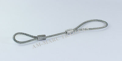 400MM SECONDARY COUPLING /& SAFETY CABLE FOR UNBRAKED TRAILERS MAYPOLE MP4982