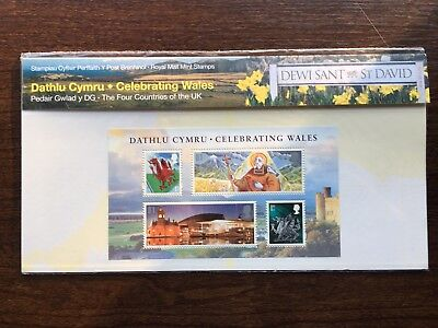 Royal Mail Presentation Pack Mint Stamps Celebrating Wales 2009