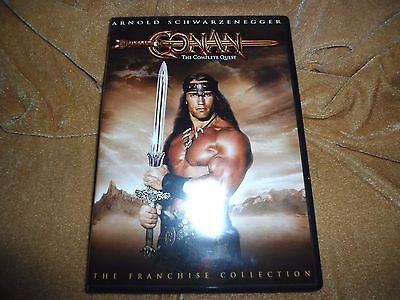Conan - The Complete Quest (1982, 1984) [1 Two Sided Disc DVD]