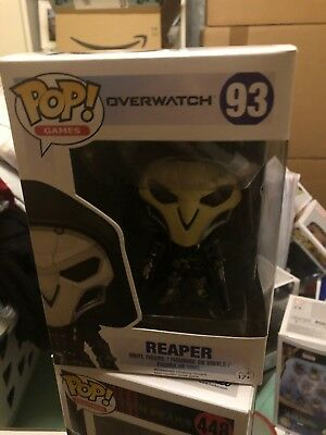 Funko Pop Games Overwatch Reaper 93 Ovp