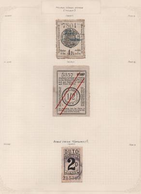 GB: Midland Great Railway Stamps - Ex-Old Time Collection - Album Page (18648)