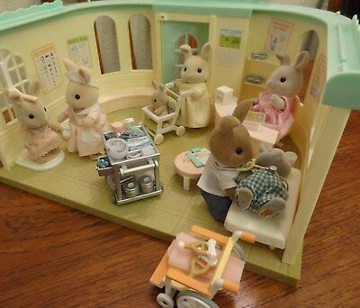 Sylvanian Families Country Clinic and Country Nurse Set (with box)