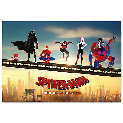 Spider Man Into the Spider Verse Movie Poster - High Quality Prints