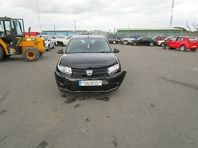 2016 Dacia Sandero Ambiance 1.2 Petrol 5 Speed Damaged Repairable Salvage