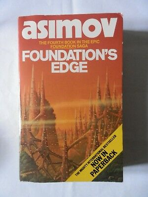 Isaac Asimov Foundation's Edge 1984 Book Science Fiction Sci-Fi Paperback