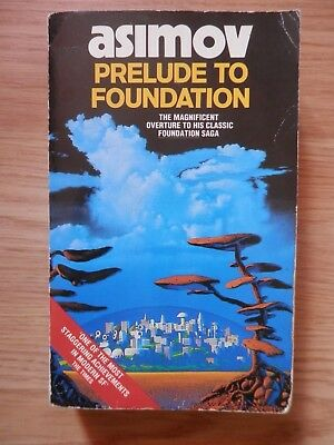 Isaac Asimov Prelude To Foundation 1989 Sci-Fi Science Fiction paperback