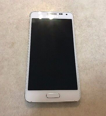 Samsung Galaxy Alpha G850A 32GB Dazzling White (Unlocked) Excellent condition