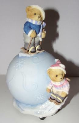 "4 CHERISHED TEDDIES "" AVON EXCLUSIVE by ENESCO"" ""2 MUSICAL"" EXCELLENT CONDITION"