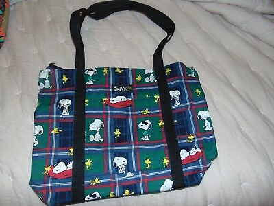New Snoopy Sax Tote