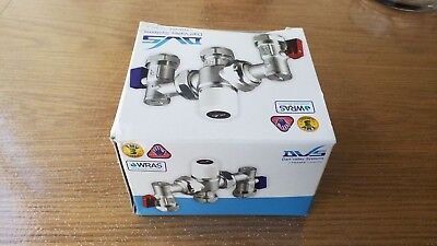 Thermostatic Mixing Valve Dart Valley Thermostatic Mixing Valve 4 in 1 – 15/22mm