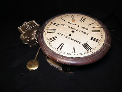ENGLISH FUSEE RAILWAY CLOCK PROJECT (BR MIDLAND No.18398)